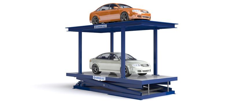 Для парковки лифт для легкового автомобиля