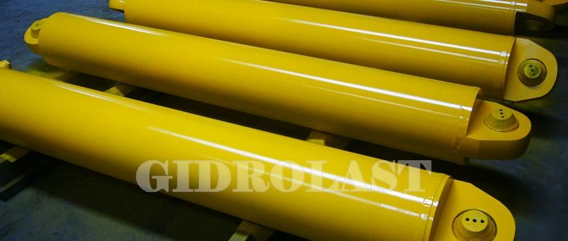 Окрасим гидроцилиндры на заказ в цвет, требуемый заказчику