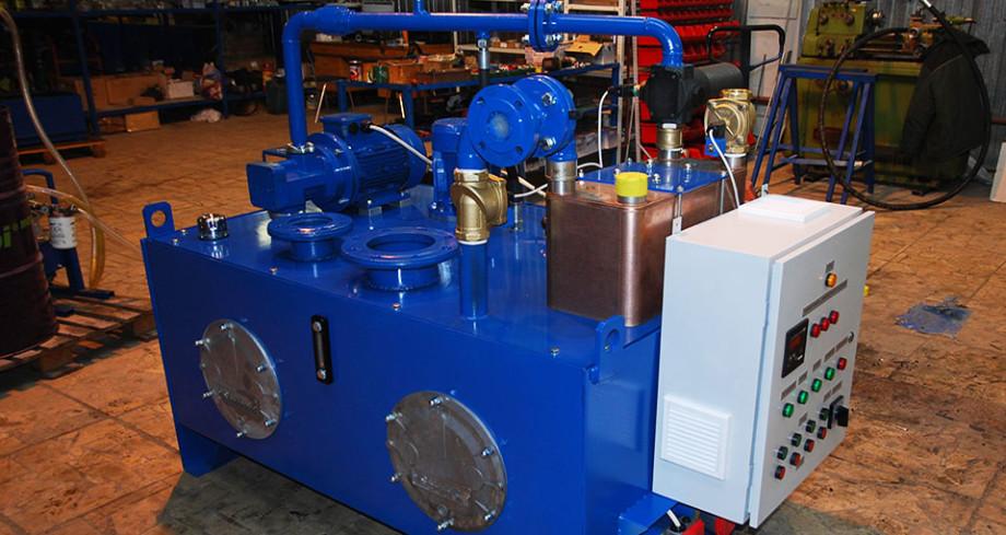 Станции смазки для гидравлического оборудования Gidrolast