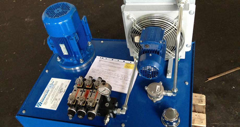 Производство Gidrolast - маслостанции смазки