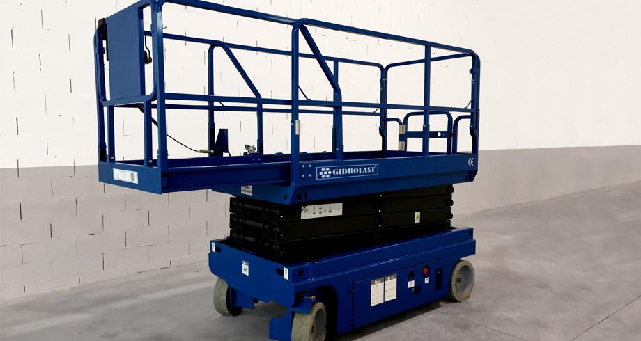 Платформа грузового подъемника