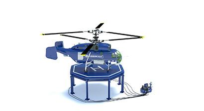 Изготовим вертолетную площадку под заказ