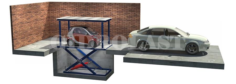 Парковочные лифты для мототехники и малолитражных автомобилей