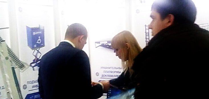 Посетители нашего выставочного стенда на форуме «Машиностроение. Металлообработка. Казань»