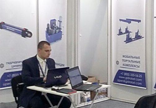 Работа наших специалистов на выставке «Машиностроение. Металлообработка. Казань»